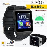 Android Smart Watch With Camera, Sim, TF Card