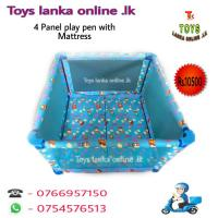 Baby play pen with Mattress