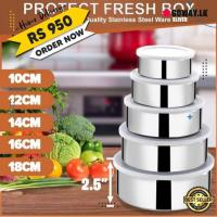 5 pcs food containers fresh box